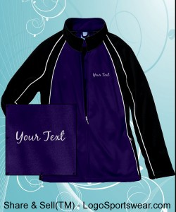 Adult Women Olympian Team Jacket Design Zoom