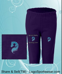 Youth sized sweat pant Design Zoom